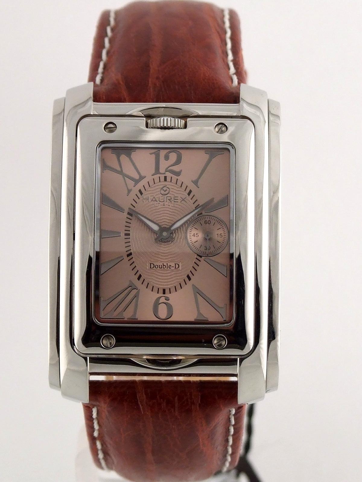 Haurex dual face men 39 s watch ebay for Haurex watches