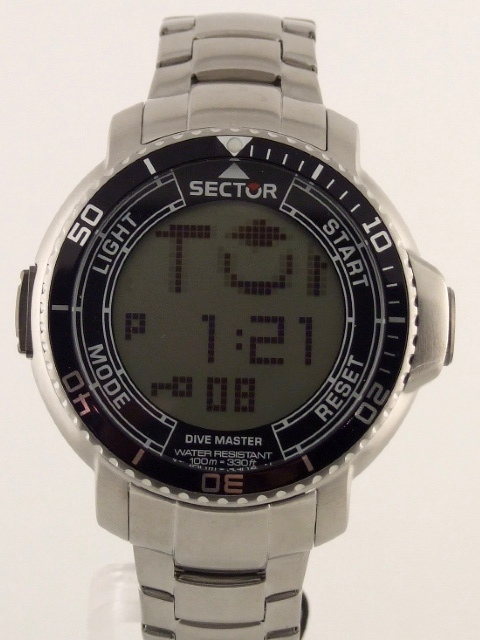 Sector dive master anadigit touch scroll compass alarm men 39 s watch - Sector dive master istruzioni ...