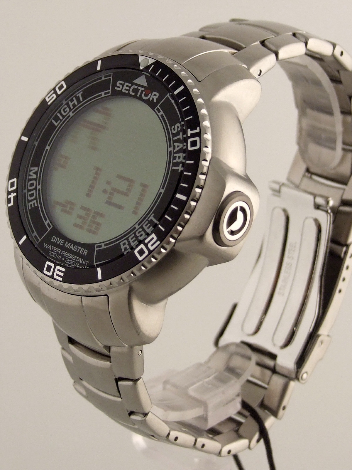 Sector dive master anadigit touch scroll compass alarm men - Sector dive master ...