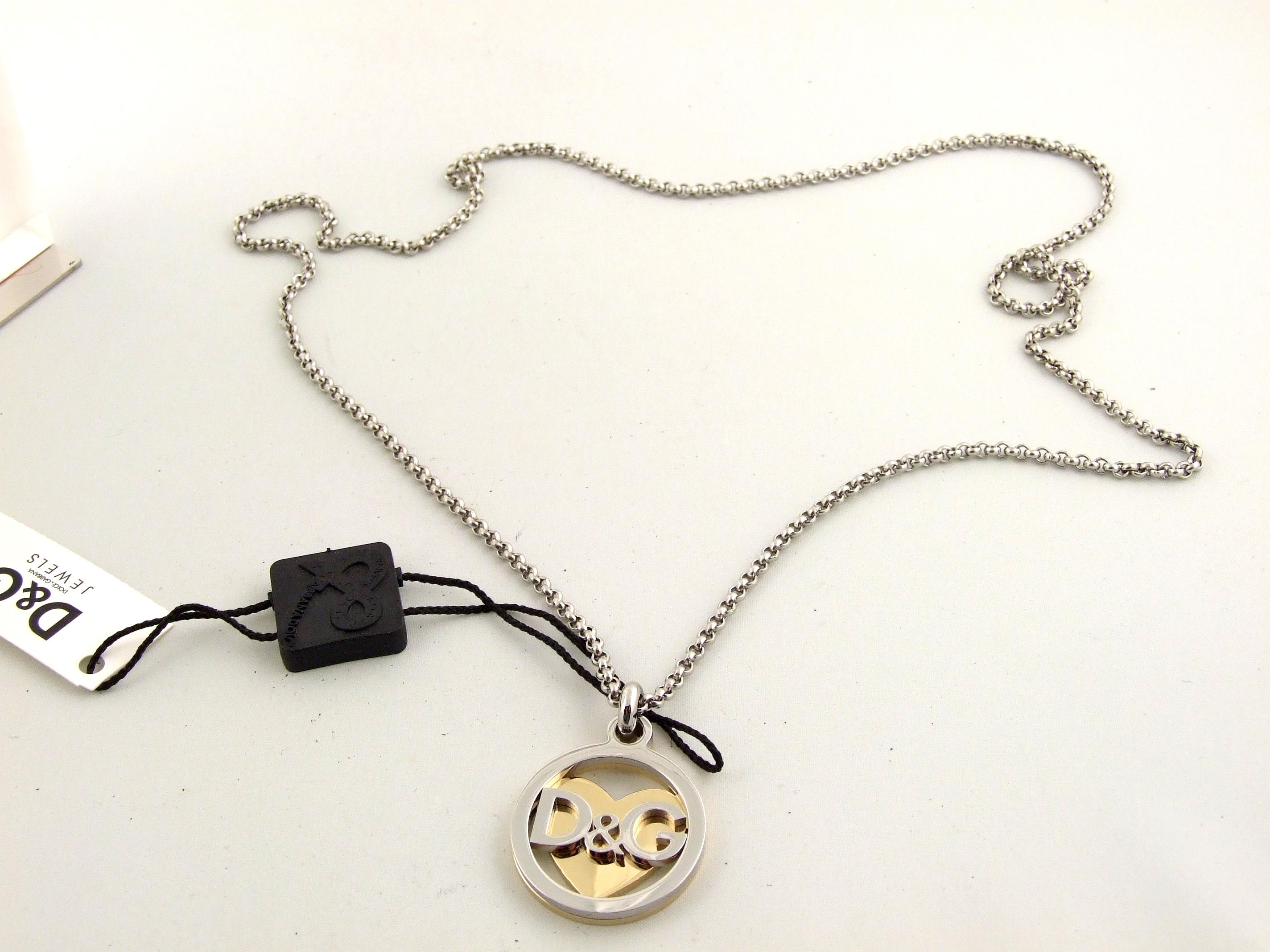 d g dolce gabbana dj0885 necklace preppy