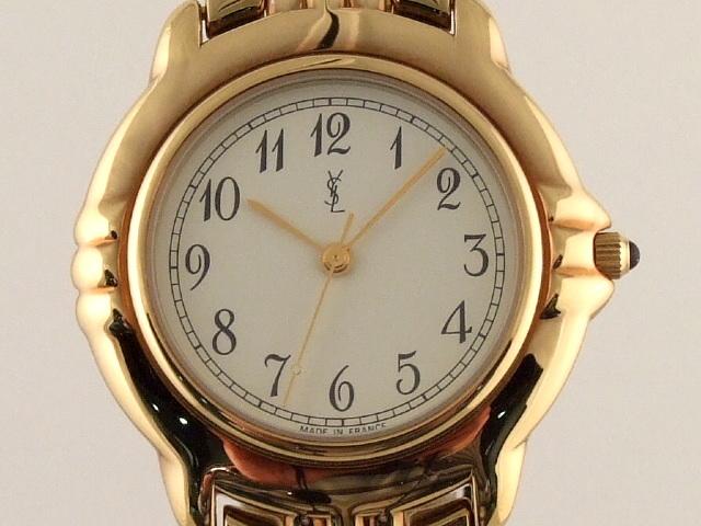 ysl black purse - YSL Yves Saint Laurent Gold Plated Watch | eBay