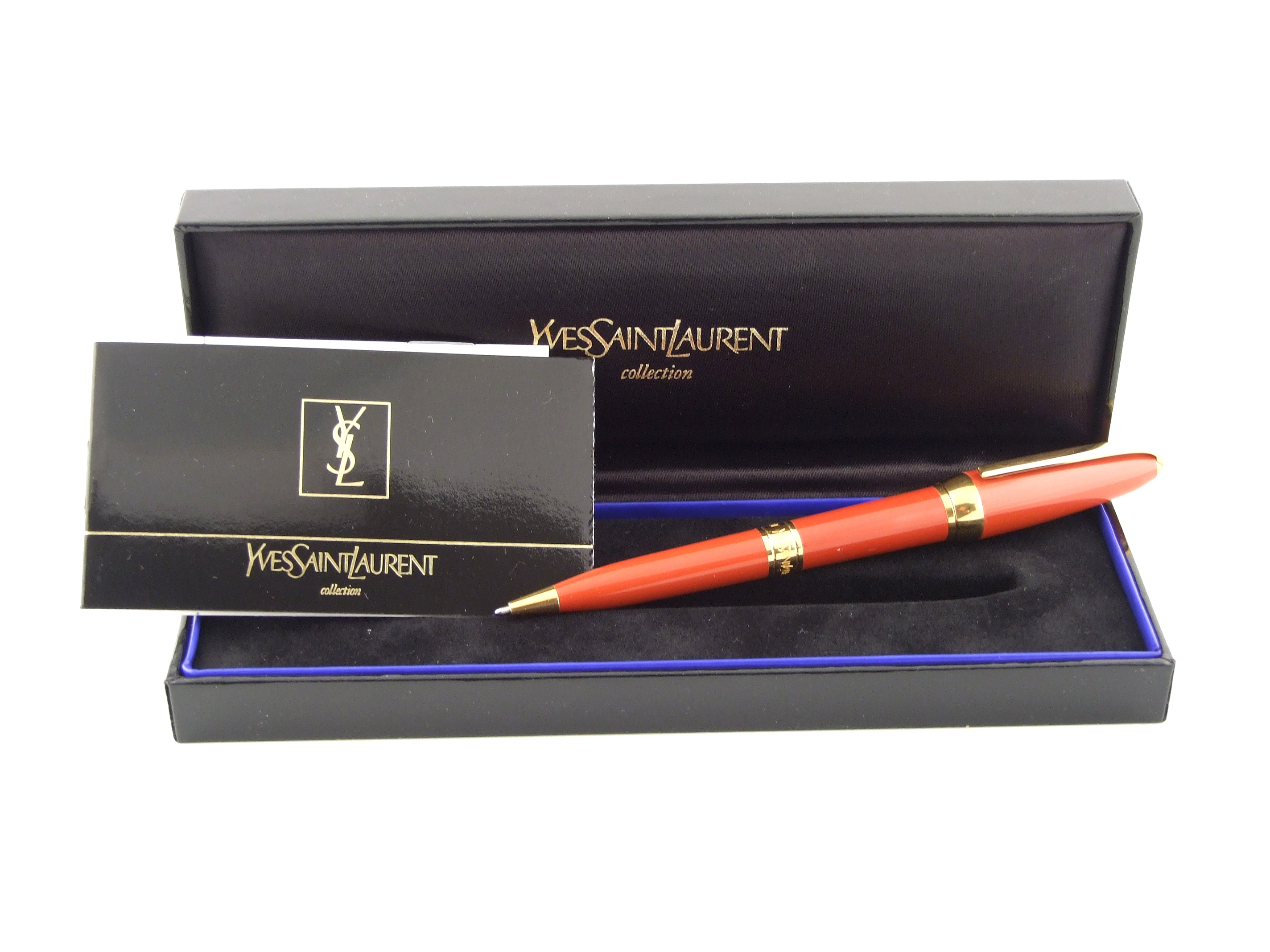 yves saint laurent cabas chyc tote blue - YSL Yves Saint Laurent Ball Point Pen Y1112412 | eBay