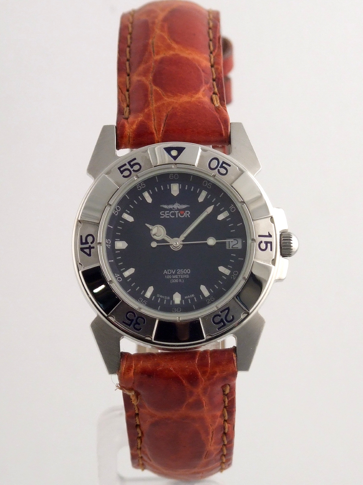 5dbeef29b30 SECTOR ADV 2500 SWISS MADE BLUE DIAL LADIE S WATCH